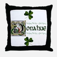 Donahue Celtic Dragon Throw Pillow