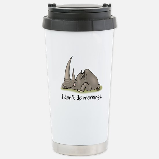 Lazy Rhino Stainless Steel Travel Mug