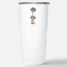 Hip Hop Stylin' Giraffe Travel Mug