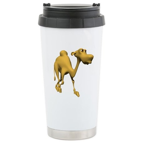 3D Style Cute Camel Stainless Steel Travel Mug