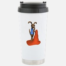 Anteater Hunting Ant Hill Travel Mug