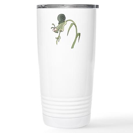 Scared Little Snail Stainless Steel Travel Mug