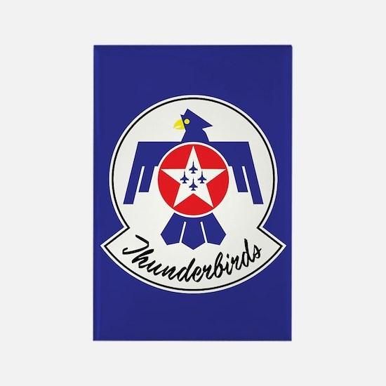 USAF Thunderbirds Emblem Rectangle Magnet