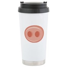 Pig Snout (Nose) Stainless Steel Travel Mug