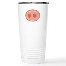 Pig Snout (Nose) Travel Mug