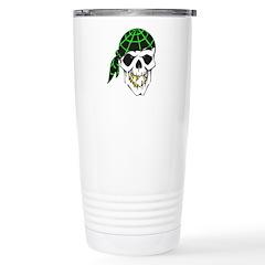 Bandana Evil Pirate Skull Stainless Steel Travel M