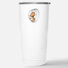 Hamster in Wheel Travel Mug