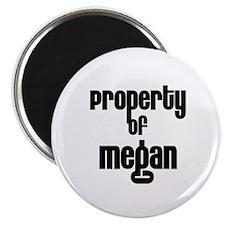 Property of Megan Magnet