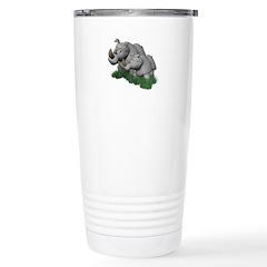 Mommy and Baby Rhino Travel Mug