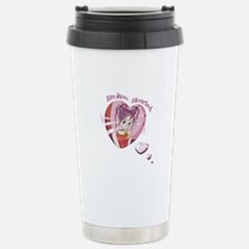 Broken Hearted Anime Girl Travel Mug