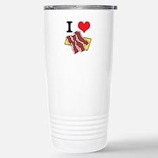 I Heart (Love) Bacon Travel Mug