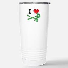 I Heart (Love) Celery Travel Mug