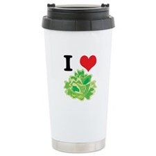 I Heart (Love) Lettuce Travel Mug