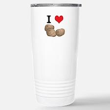 I Heart (Love) Potatoes Travel Mug