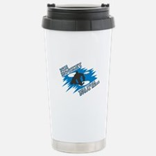 The Puck Stops Here Stainless Steel Travel Mug