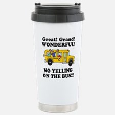 NO YELLING ON THE BUS Travel Mug
