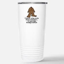 Sasquatch Stole the Lunches Travel Mug