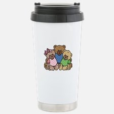 Cute Country Bear Family Travel Mug