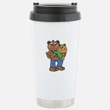 Country Style Daddy and Baby Travel Mug