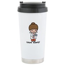 Future Scientist Girl Travel Mug