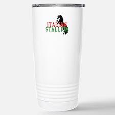 Italian Stallion Stainless Steel Travel Mug