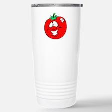 Happy Tomato Face Travel Mug