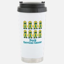 Ducks for a Cause Cervical Ca Stainless Steel Trav