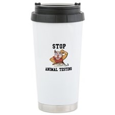 Stop Animal Testing Travel Mug