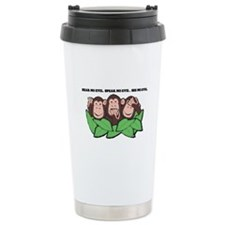 No Evil Monkeys Travel Mug
