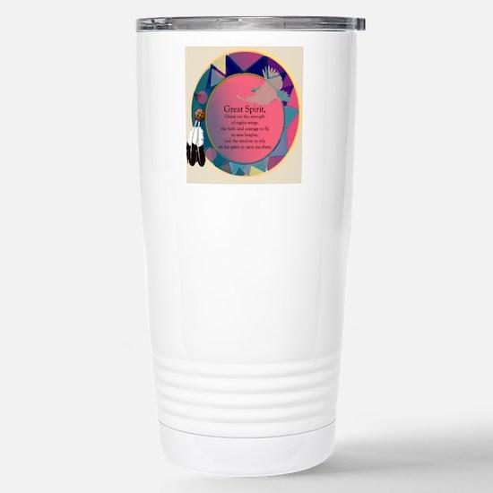 New Spirit Stainless Steel Travel Mug
