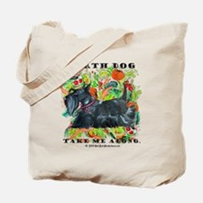 Eco Friendly Scottish Terrier Tote Bag