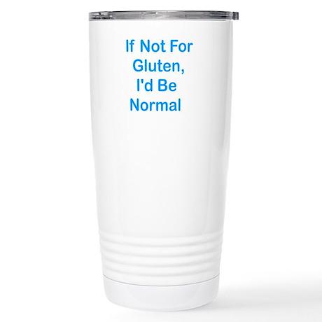 If Not For Gluten Stainless Steel Travel Mug