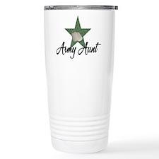 Army Aunt Travel Coffee Mug