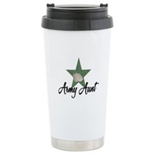 Army Aunt Travel Mug