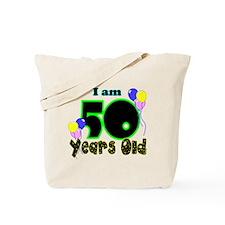 50th Birthday YEL Tote Bag