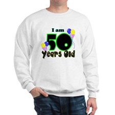 50th Birthday YEL Sweatshirt