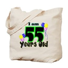 55th Birthday Tote Bag