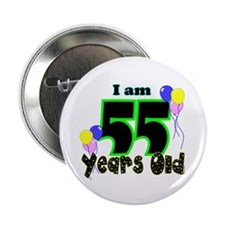 "55th Birthday 2.25"" Button"