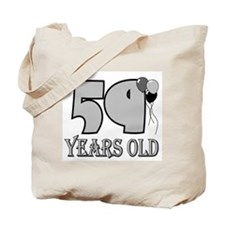 59th Birthday GRY Tote Bag