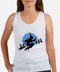 Flying Witch Women's Tank Top