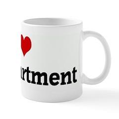 I Love IT Department Mug
