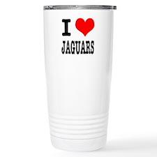 I Heart (Love) Jaguars Travel Mug