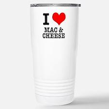 I Heart (Love) Mac & Cheese Travel Mug