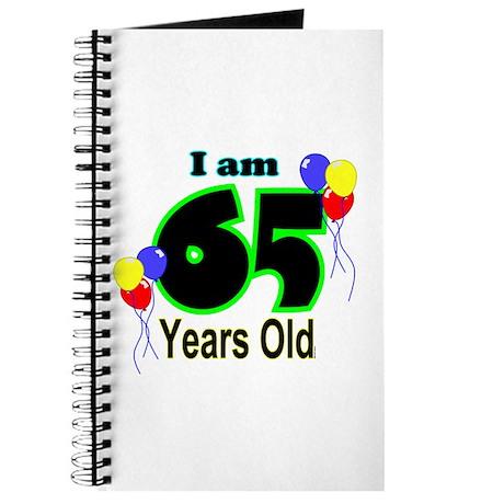 65th Birthday Journal