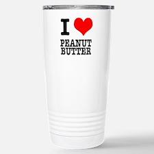 I Heart (Love) Peanut Butter Travel Mug