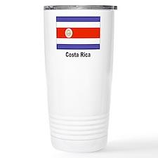 Costa Rica Flag Travel Mug