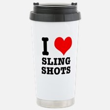 I Heart (Love) Sling Shots Travel Mug