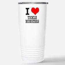 I Heart (Love) Tickle Monster Travel Mug