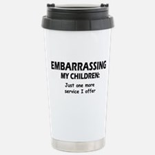 Embarrassing My Children Travel Mug
