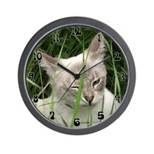 Winking Cat (Paint) Wall Clock